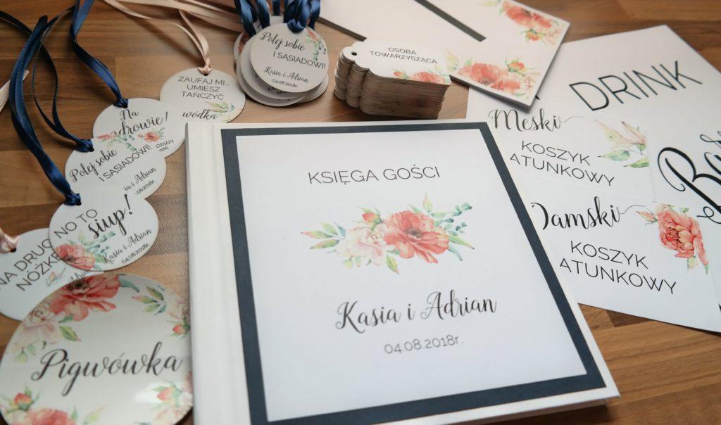 księgi gości i dodatki weselne